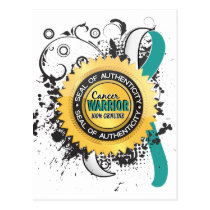Cervical Cancer Warrior 23 Postcard