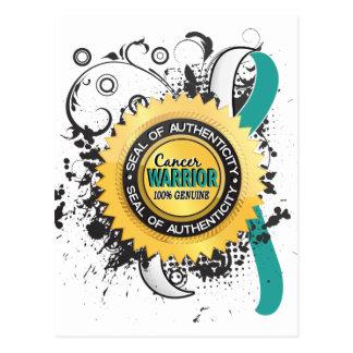 Cervical Cancer Warrior 23 Postcard