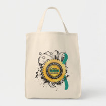 Cervical Cancer Warrior 23 Tote Bag