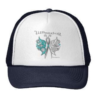 Cervical Cancer Warrior Celtic Butterfly Trucker Hat