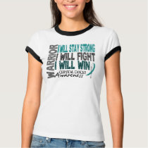 Cervical Cancer Warrior T-Shirt
