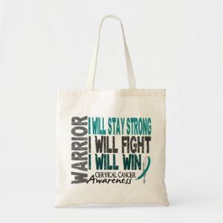 Cervical Cancer Warrior Tote Bag