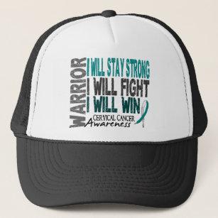 ee5598ffebf Cancer Fighter Baseball   Trucker Hats