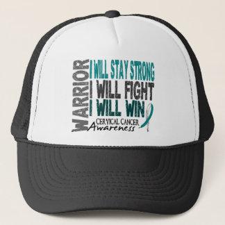 Cervical Cancer Warrior Trucker Hat