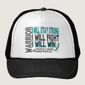 Cervical Cancer Warrior Trucker Hat