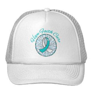 Cervical Hope Faith Cure Hats