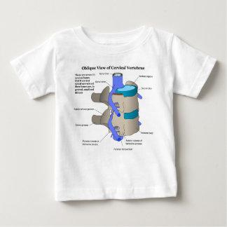 Cervical Vertebra of the Human Spinal Column Baby T-Shirt