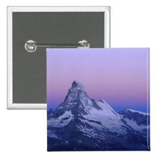Cervino en el amanecer, Zermatt, montañas suizas, Pins