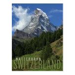 Cervino en Suiza Postales