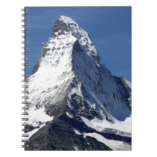 Cervino, montañas cuadernos