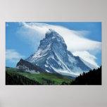 Cervino, montañas póster