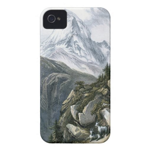 Cervino o Mont Cervin Case-Mate iPhone 4 Carcasa