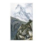 Cervino o Mont Cervin Impresiones En Lienzo Estiradas
