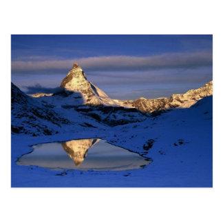 Cervino reflejado, Suiza Postal