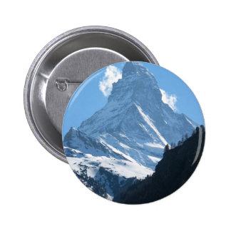 Cervino, Zermatt Pin Redondo 5 Cm