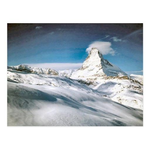 Cervino, Zermatt Postal