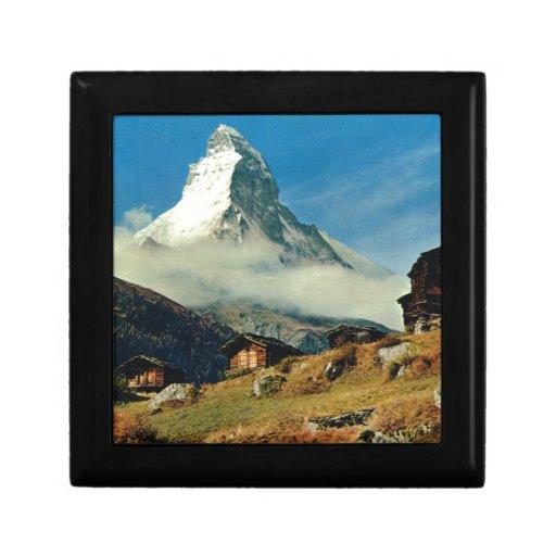 Cervino, Zermatt, Suiza Cajas De Recuerdo