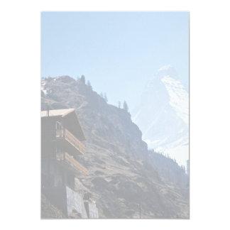 """Cervino, Zermatt, Suiza Invitación 5"""" X 7"""""""