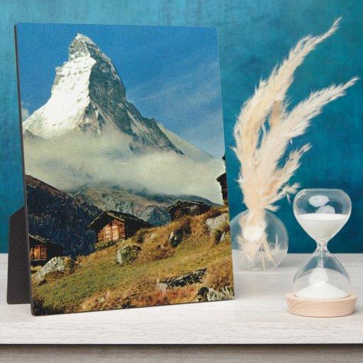 Cervino, Zermatt, Suiza Placas De Madera