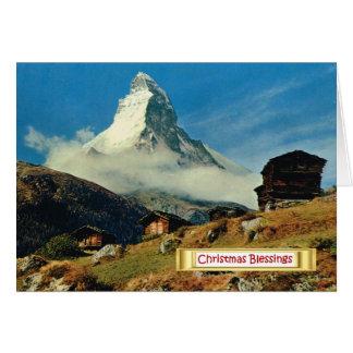 Cervino, Zermatt, Suiza Tarjeta De Felicitación