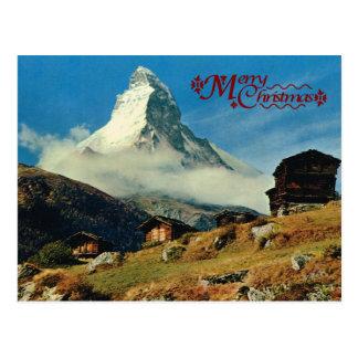 Cervino, Zermatt, Suiza Tarjeta Postal