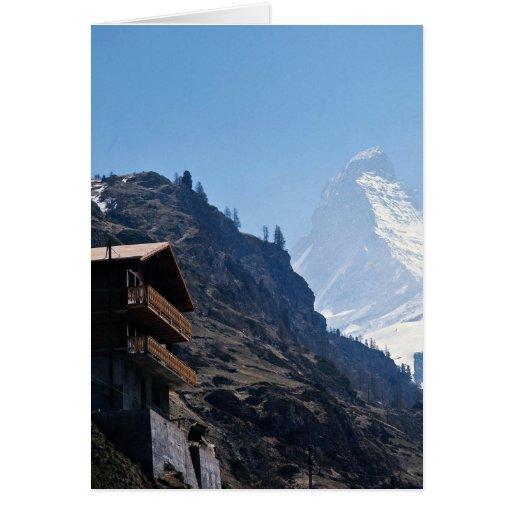 Cervino, Zermatt, Suiza Tarjetas