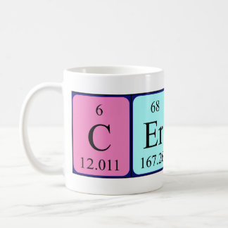 Cerys periodic table name mug