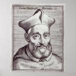 César cardinal Baronio Póster