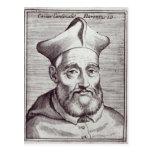 César cardinal Baronio Tarjeta Postal