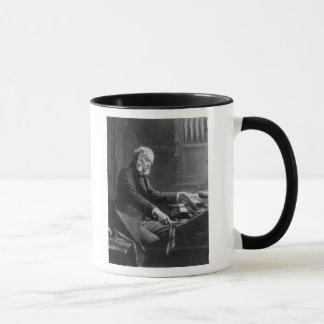 Cesar Franck at the console of the organ Mug