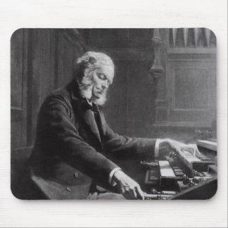 Cesar Franck en la consola del órgano Alfombrillas De Ratones