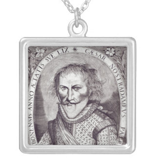 Cesar Nostradamus Silver Plated Necklace