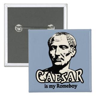 César Romeboy Pin Cuadrado