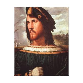 Cesare Borgia  Duke of Valencia Canvas Print