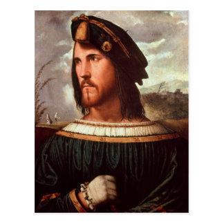 Cesare Borgia  Duke of Valencia Postcard