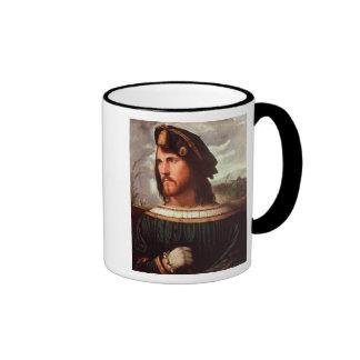 Cesare Borgia  Duke of Valencia Ringer Coffee Mug
