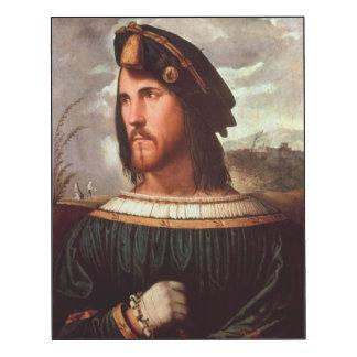 Cesare Borgia  Duke of Valencia Wood Wall Art