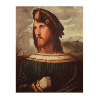 Cesare Borgia  Duke of Valencia Wood Wall Decor