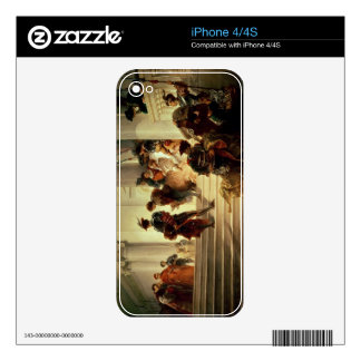 Cesare Borgia leaving the Vatican Decal For The iPhone 4S
