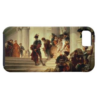 Cesare Borgia leaving the Vatican iPhone SE/5/5s Case