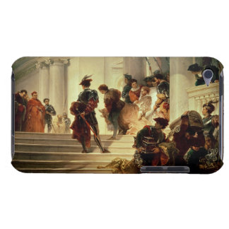 Cesare Borgia leaving the Vatican iPod Touch Case-Mate Case