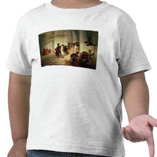 Cesare Borgia leaving the Vatican T-shirt