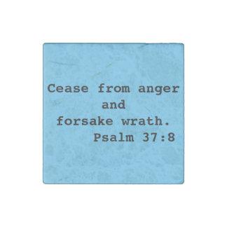 Cese del refrigerador del 37:8 del salmo de la imán de piedra