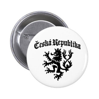 Ceska Republika Pinback Button