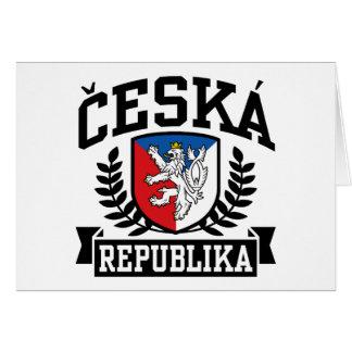 Ceska Republika Card