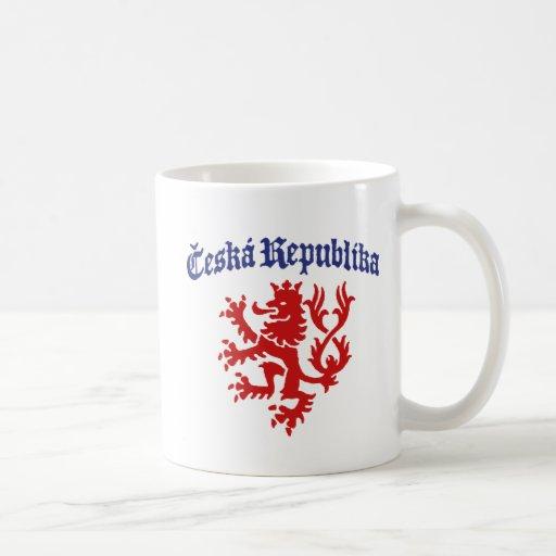 Ceska Republika Coffee Mugs
