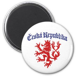 Ceska Republika Imán Para Frigorífico