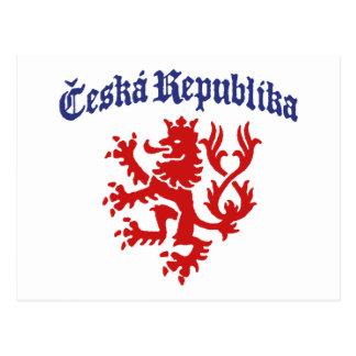 Ceska Republika Post Card