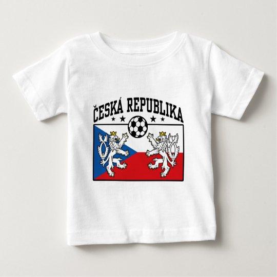 Ceska Republika Soccer Baby T-Shirt