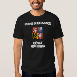 Ceske Budejovice, Czech Republic with coat of arms T Shirt